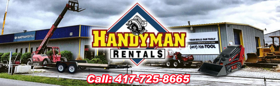 Tool Rental Nixa MO Equipment- Springfield Rental - Handy
